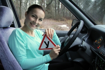 woman - driving instructor